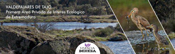 Valdepajares de Tajo, primera Área Privada de Interés Ecológico de Extremadura.