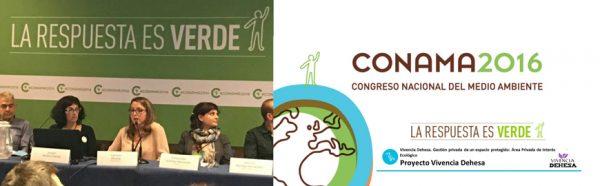 CONAMA 2016 Proyecto Vivencia Dehesa