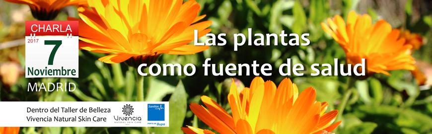 Charla Sanitas Plantas fuente de salud