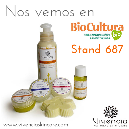 Cosmética natural Vivencia Skin Care