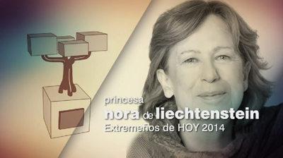 Premios Extremeños de HOY. Nora de Liechtenstein