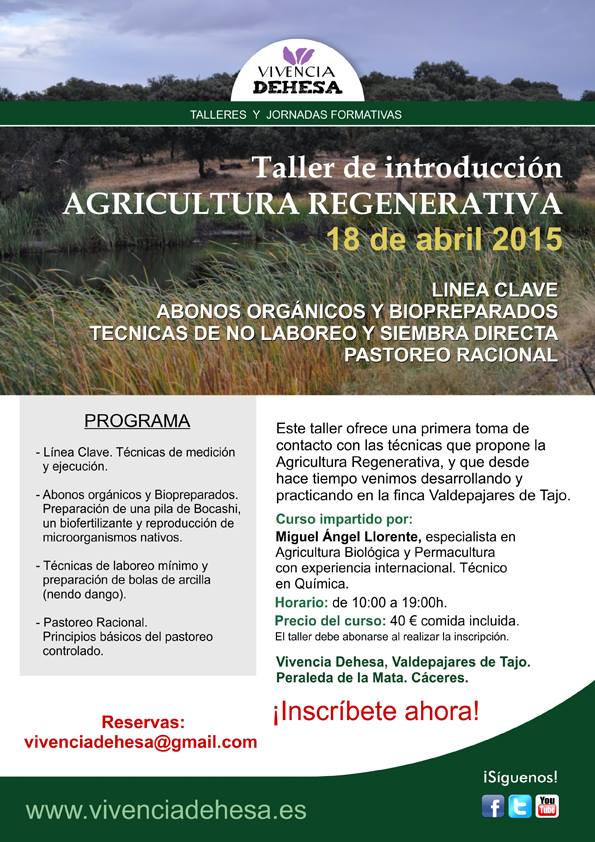Cartel Agricultura Regenerativa